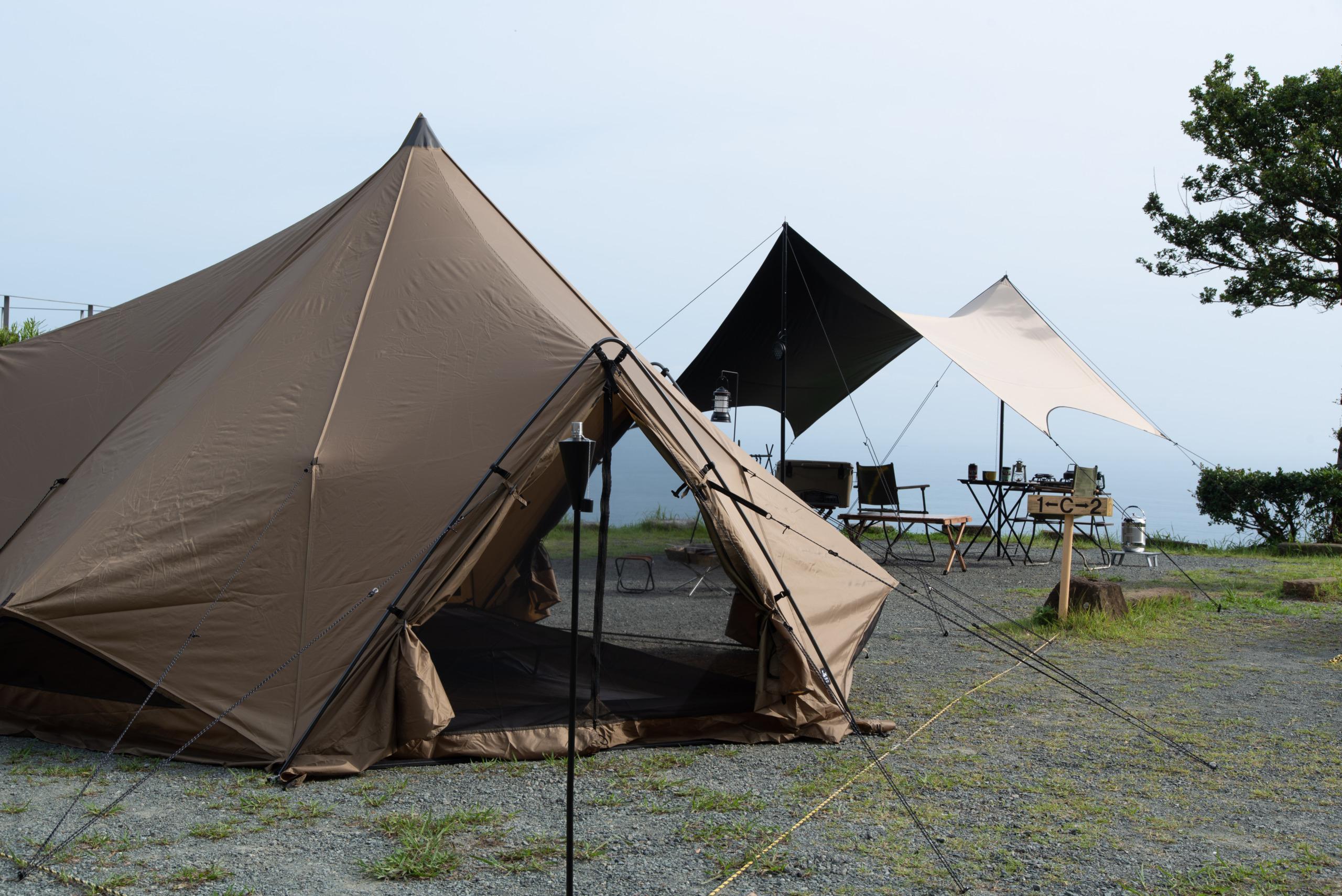 ゼインアーツ ZEKU-M キャンプ場